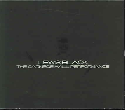 CARNEGIE HALL PERFORMANCE BY BLACK,LEWIS (CD)
